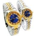 2016 cristais REGINALD data impermeável homens relógio de aço relógio de pulso militar do exército relógio Montre Homme Reloj