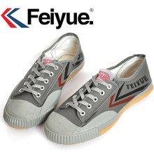 Feiyue Classic Retro Basic Kung fu models Shaolin Soul series of genuine version canvas shoes sneakers(China)