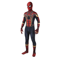Wholesale 2018 Spiderman Costume Spiderman Homecoming Cosplay Costume Tom Holland Iron Spider Man Suit Drop Shipping