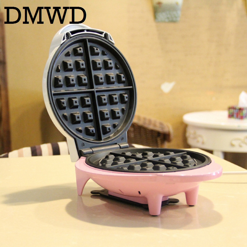 DMWD Electric waffle baking machine Crepe non-stick waffle maker kitchen DIY Muffin cake making machine breakfast animal pattern dmwd electric waffle maker muffin cake dorayaki breakfast baking machine household fried eggs sandwich toaster crepe grill eu us