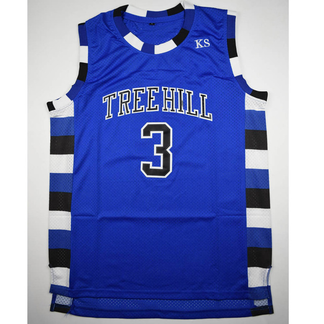 c9a90bcc US $14.99 |TIM VAN STEENBERGEB Lucas Scott 3 One Tree Hill Ravens  Basketball Jersey All Sewn B-in Basketball Jerseys from Sports &  Entertainment on ...