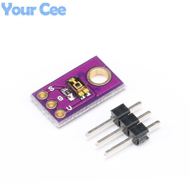 2pcs TEMT6000 Light Sensor Sensitivity Ambient Light Sensor Module To  Visible Spectrum Adapted To Human Eye