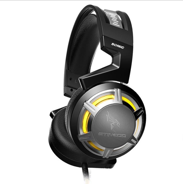 SOMIC G926 Surround Sound Gaming Headset Strong Bass with Flexible Mic headphone Professional for headsets gaming