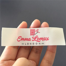 Custom Soft Quality High Clothing Woven Labels
