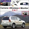 3 In1 Special Rear View Wifi Camera Wireless Receiver Mirror Monitor Easy Backup Parking System For