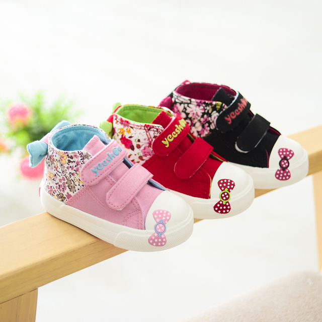 2016 Spring Canvas Baby Shoes Girls Shoes Comfortable,Soft Sole Breathable Shoes Baby Girl Shoes Infantil,Anti-Collosion Toe Cap