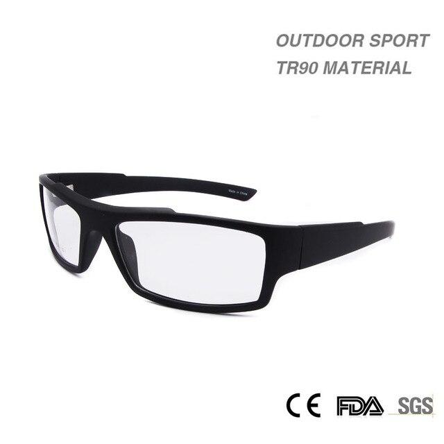 Mens smonturas hombre Claro Gafas de lentes Marcos Hombre Material TR90 Marcos de Anteojos Recetados Marco Deporte Al Aire Libre de Los Hombres