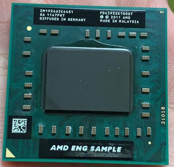 AMD A8-Series A8 4500M  ES Sample ZM192463C4451  Laptop CPU Quad Core A8-4500M 1.9G Socket FS1