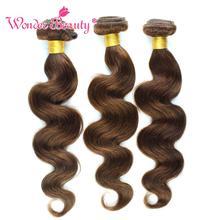 Wonder beauty волосы бразильские объемные волнистые волосы, 3 пучка, прямые человеческие волосы, не Реми, для наращивания, Смешанная Длина 8-26 дюймов