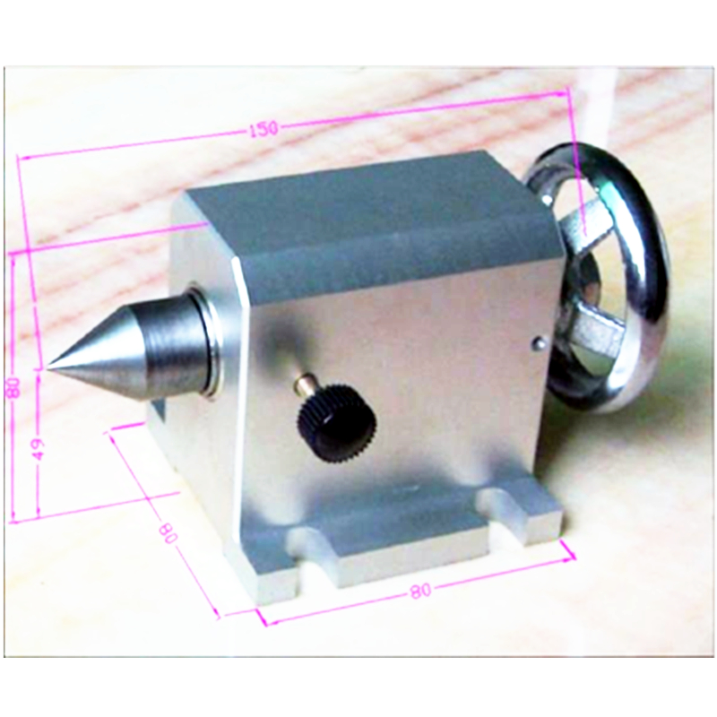 CNC tailstock 4 Axis suitable METAL router Machine cnc 5axis a aixs rotary axis t chuck type for cnc router cnc milling machine best quality