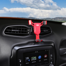 For Jeep Renegade 2016 2017 2018 2019 Car Air Vent Mount Adjustable Phone Holder Stand Cell Mobile Stable Cradle
