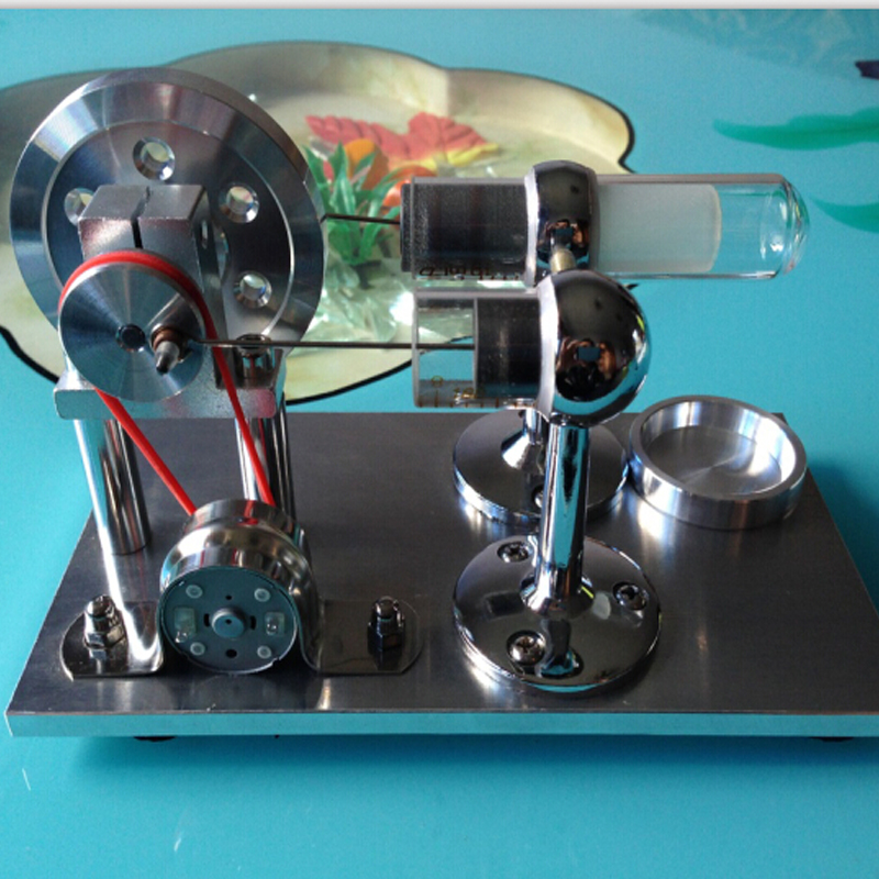 Tout métal peut démarrer le modèle de moteur Stirling à quatre cylindres V4