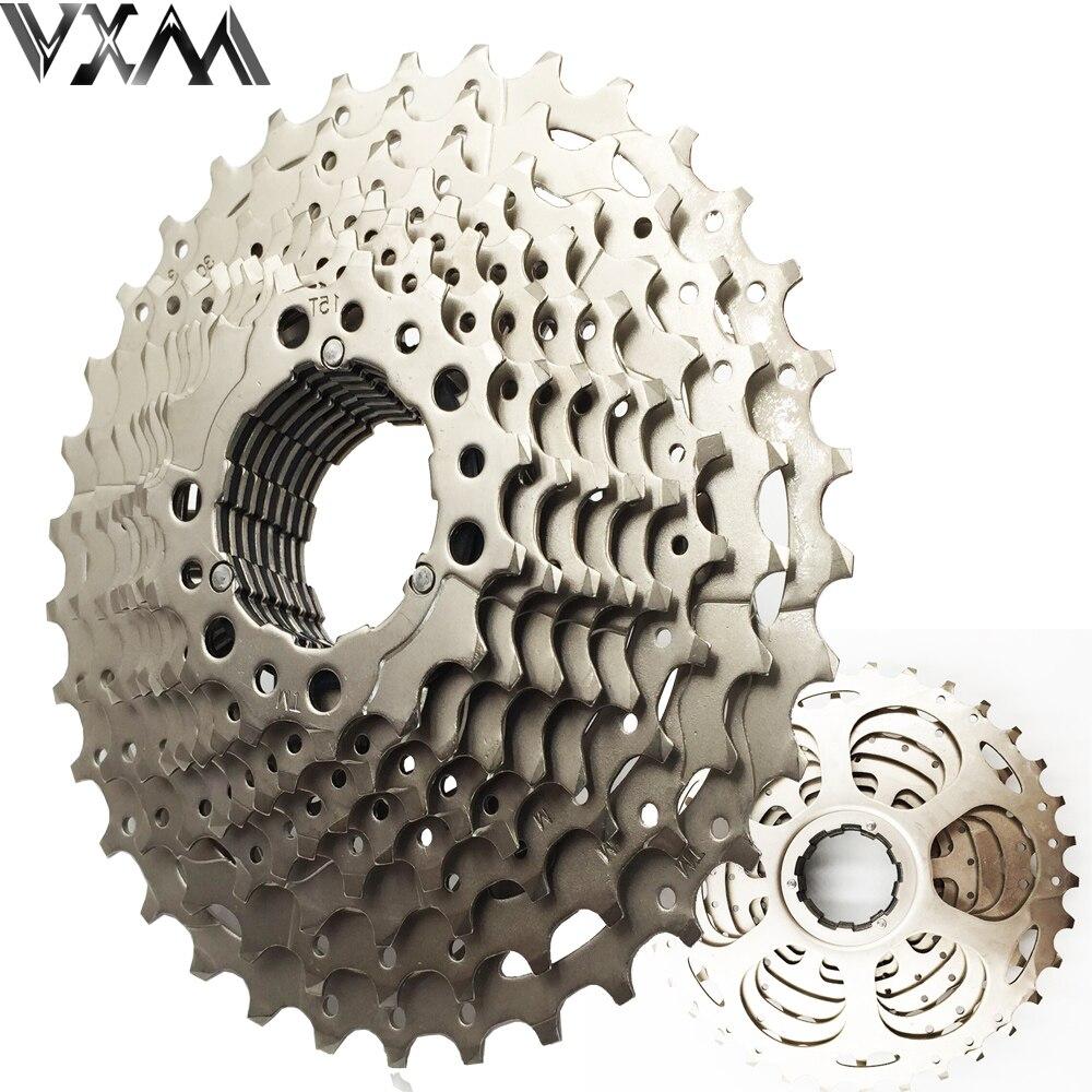 VXM Bicycle Flywheel Mountain Bike Flywheel 10S Cassette Freewheel 10 Speeds Flywheel 11-34T Teeth Crankset Bicycle Parts