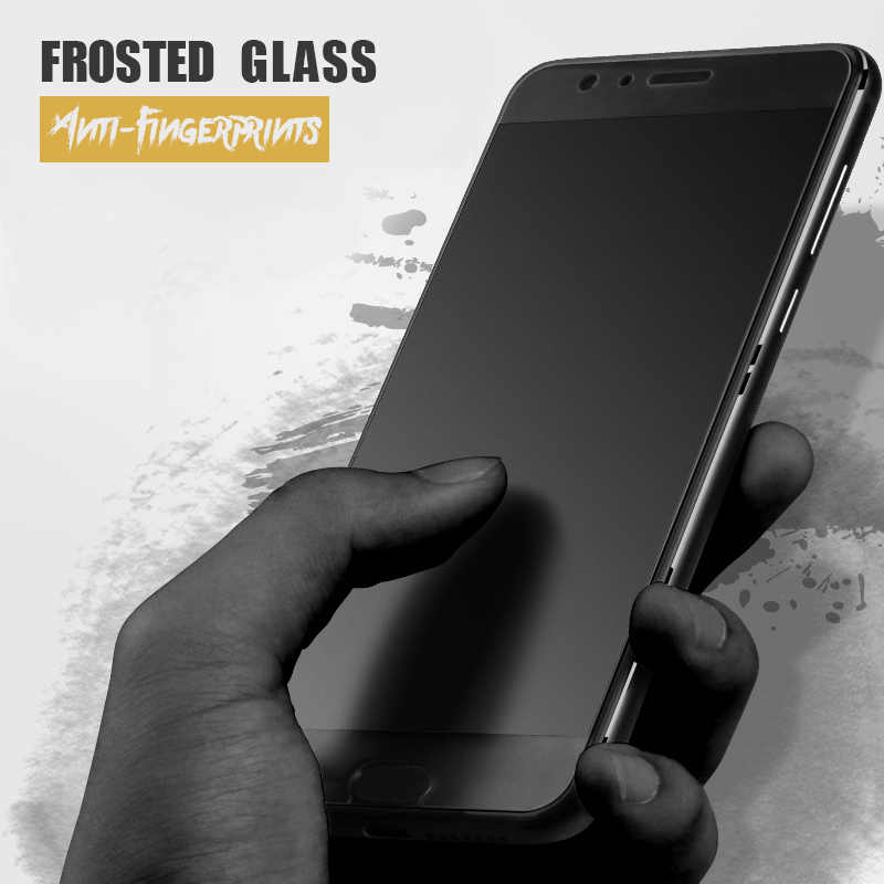 Matte Tempered Glass Protector for Huawei Mate 10 P10 P9 P20 Lite Honor 7A Pro 7C 7X 8 9 P Smart Anti-glare Frosted Screen  Film