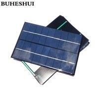 BUHESHUI 9 в 4 2 Вт поли солнечная панель  солнечный модуль  солнечная энергия 6 в зарядное устройство 200*130*2 мм  3 шт./лот  бесплатная доставка