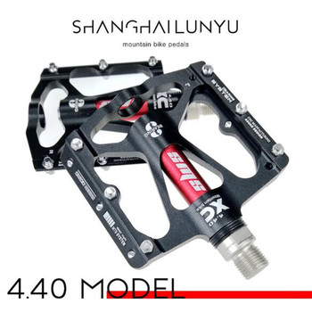 BXM 1 par CNC Da Liga de Alumínio Pedal de Bicicleta de Montanha MTB Ciclismo de Estrada 3 pedal Da Bicicleta rolamento 6 cor opcional