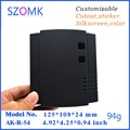 4 pcs/lot power inverter enclosure ip67 box wireless camera housing wall mounted case housing  125*108*24mm