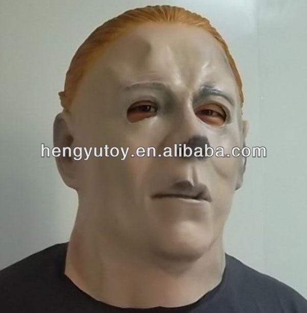 Fancy Dress Costume Latex Crossdressing Bloody Eyes Michael Myers Adult Mask