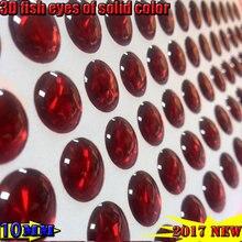2017new buatan 3d memancing memikat mata jumlah: 800 pcs/lot warna solid: merah
