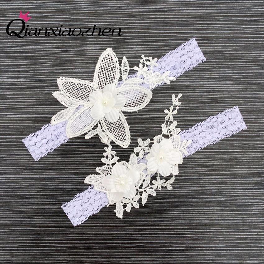 Diy Wedding Garter: Aliexpress.com : Buy Qianxiaozhen 2pcs/set Flowers Lace