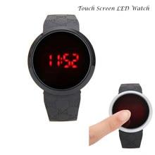 9b31a18e96cd 2018 Simple Touch Screen LED Watch Clock Men Women Silicone Sports Watches  Men s Digital Watch Gift For Men Women reloj hombre