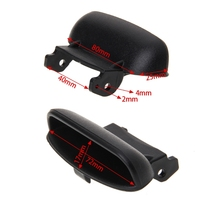 Hot New 1 Pc Auto Car Armrest Cover Lock Center Console Latch Clip Black For Honda Civic 2006-2011  10166 2pcs lot new ignition coil 30520 rna a01 for honda civic 2006 2011 1 8l uf582 c1580 uf 582 30520rnaa01