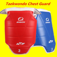 Taekwondo Chest Protector WTF Taekwondo Chest Guard Protection Adult Child Taekwondo protector WTF approved chest supporters TKD