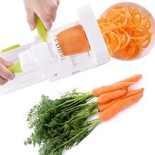 AS SEEN ON TV Folding 5 Blade Vegetable Spiralizer