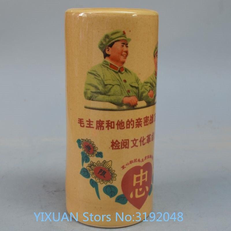 TNUKK Jingdezhen-stylo porte-chapeau | antique en porcelaine, ornements de révolution souvenirs