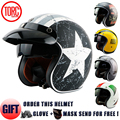 Moto torc casco capacetes casco cascos de motocicleta cafe racer casco torc motocicleta scooter casco t-57 china