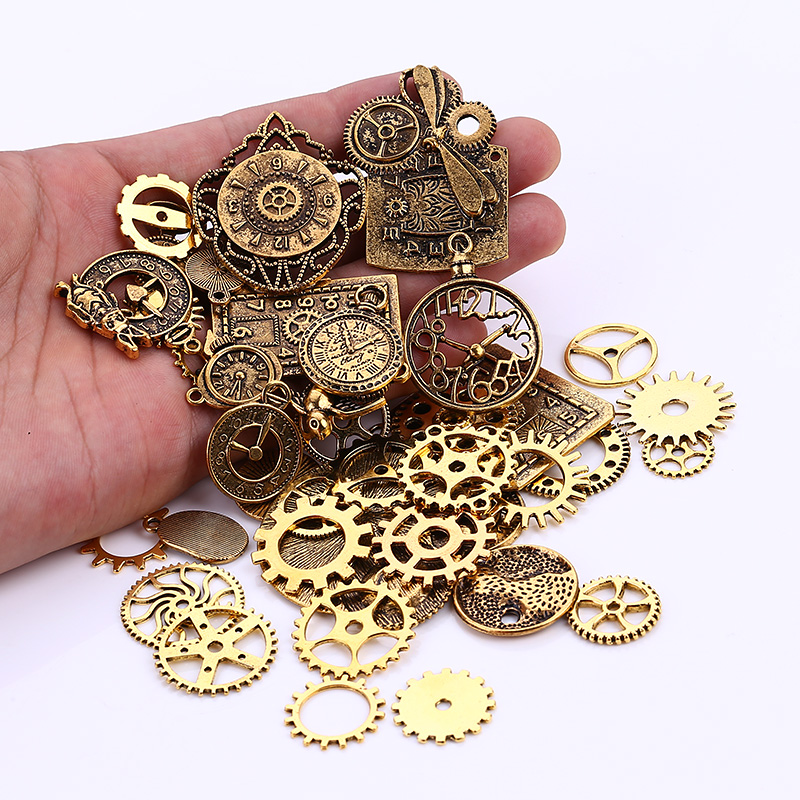 Positive Feedback Is Very Important To UsPls Contact Us Before You Leave Neutral Or Negative About Mixed Steampunk Clock Gear Charms Diy
