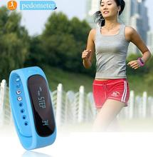 Smartband E02 font b Health b font font b fitness b font tracker Sport Bracelet Waterproof