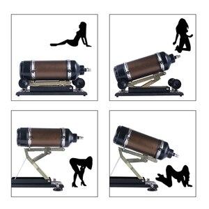 Image 4 - HISMITH New Arrival automatyczne Sex Machine z 10 rodzajów dildo załączników miłość maszyny Gun mocniejsza moc dla kobiet Sex zabawki