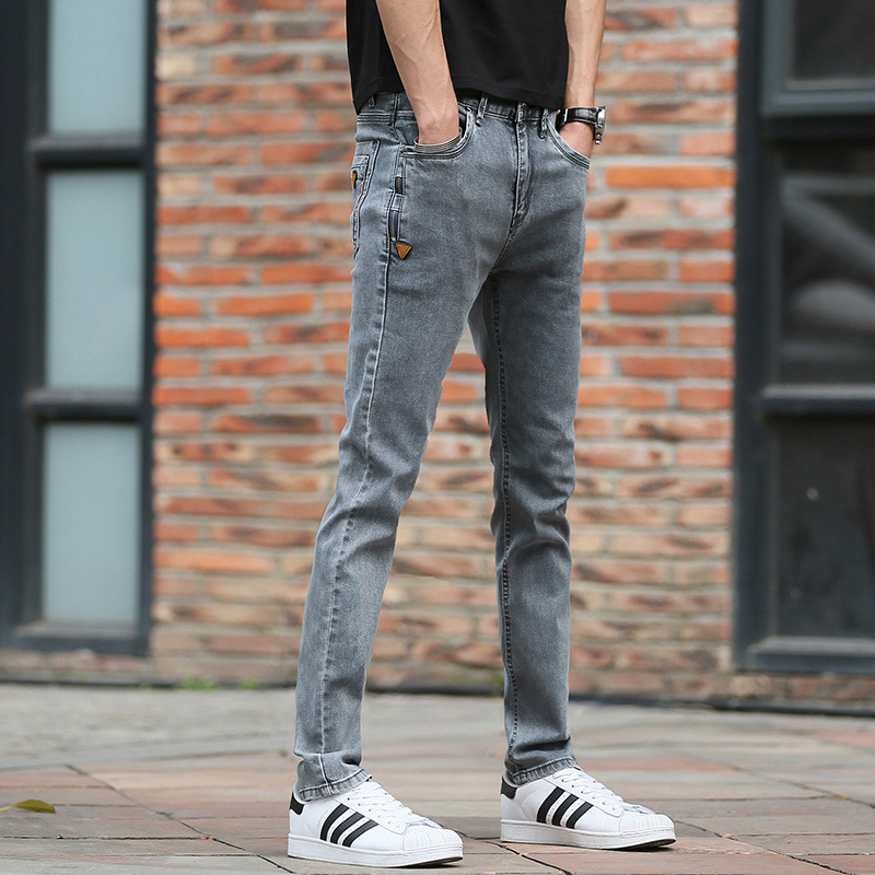 Jbersse Hot Sale New Arrival Denim Long Pants Men Jeans 2018 Fashion Casual Cotton Four Seasons Skinny Jeans Men pantalon homme