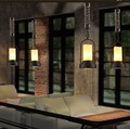 Nordic Vintage LED Pendant Lights In Style Loft Industrial Lamp Rope Lamparas Colgantes De Techo for Bar Restaurant Home Dining