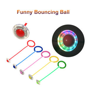 Entertainment-Toys Jump-Ropes Playing One-Foot-Flashing Skip-Ball Fitness Funny Sports