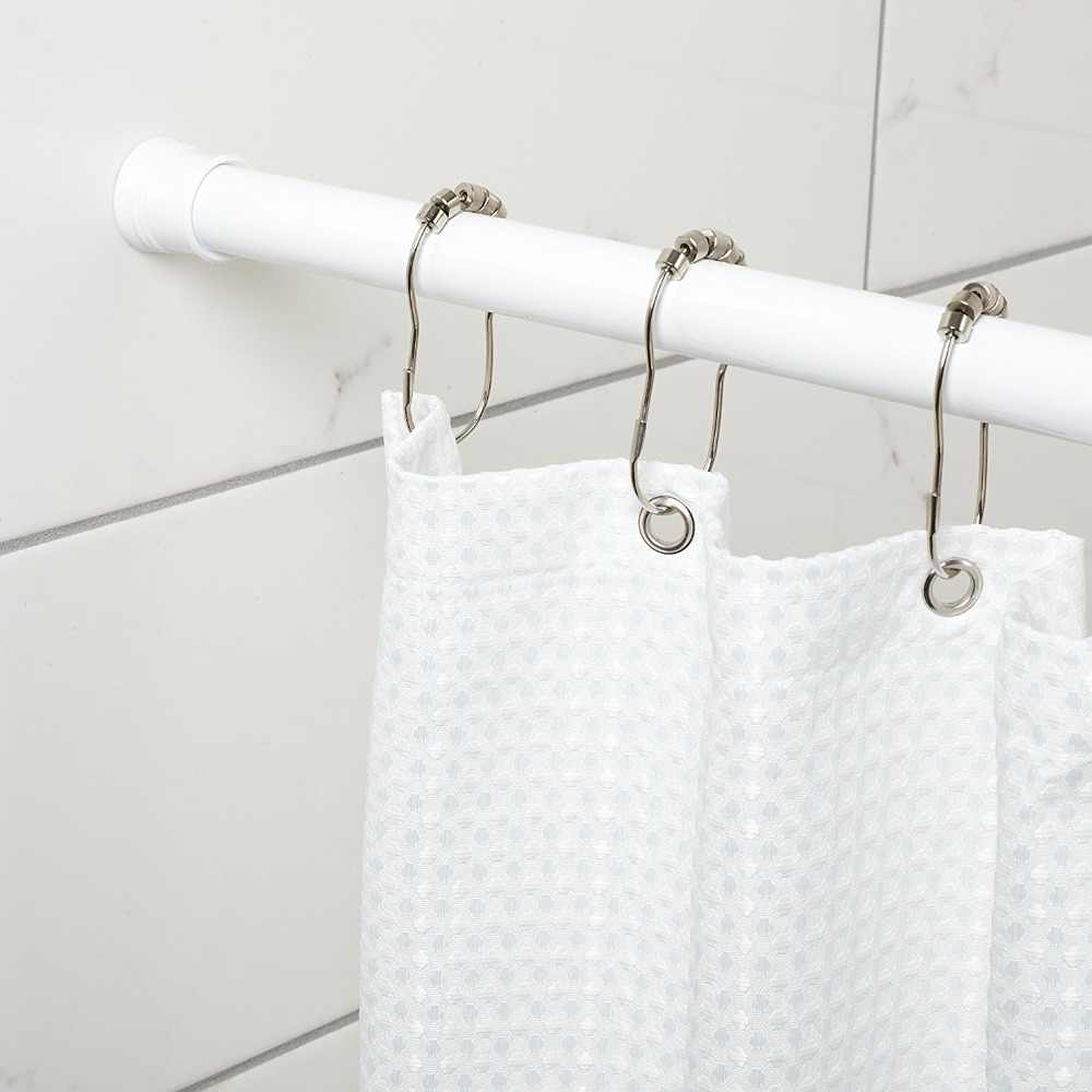 Feiqiong Home Fashions Adjustable 12 To 36 Inch Stainless Steel Shower Curtain Tension