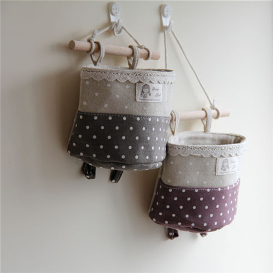 Cartoon Linen Storage Organizers Bag Tank Home Accessories Kitchen Onderbroeken Tas Containers For Storage Pocket Toy DDIXZ