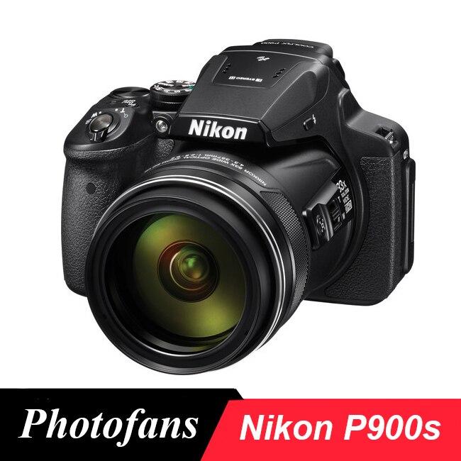 Nikon P900 s Камера coolpix P900s цифровой Камера s-83x Zoom-Full HD видео-Wi-Fi Фирменная Новинка