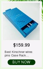 10 peças de aço inoxidável fios kirschner