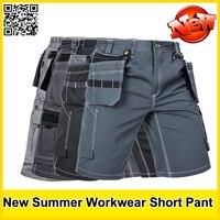 New High Quality Men S Summer Work Short Workwear Multi Pockets Short Work Pant Work Short