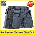 New High quality men's summer work short workwear multi pockets short work pant work short trousers free shipping