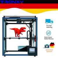 Mis à niveau Tronxy X5SA 3D imprimante bricolage Kits écran tactile niveau automatique grande taille d'impression 330*330mm lit de chaleur 3d machine Filament capteur