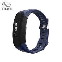 TTLIFE Смарт Браслет монитор сердечного ритма Bluetooth SmartBand здоровья фитнес трекер напоминание смарт-браслет для iOS и Android