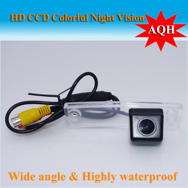 Car Rear View Camera / Reversing Park Camera FOR Toyota Fortuner SW4 2005~2012 HD CCD Night Vision + Wide Angle