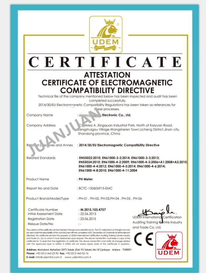 Zsebtoll vízteszt Digitális PH-mérőeszköz PH-009 IA 0,0-14,0pH - Mérőműszerek - Fénykép 3