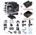 2016 hot venda hero 3 style sj4000 câmera 1080 p full hd dvr 30 m impermeável sport action camera + bateria + carregador shiping livre