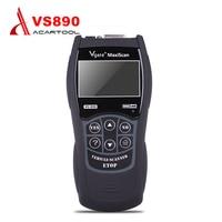 VS890 VGATE MaxiScan OBD2/EOBD+CAN Diagnostic Scanner for Car Multi language VS 890/VS 89s Code Reader Car Diagnostic Tool|vgate maxiscan|vs890 obd2vgate vs890 -