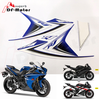 Screen Printing Motorbike Racing Fairing Decal Moto Motorcycle Decals Sticker For Yamaha YZF R1 2009 2010 2011 2012 2013 2014
