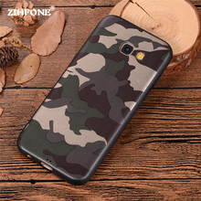 Army Camo Camouflage Case For Samsung Galaxy A3 A5 A7 2017 Soft TPU Silicone Phone Cases Back Cover For Samsung S7 S7 Edge Case